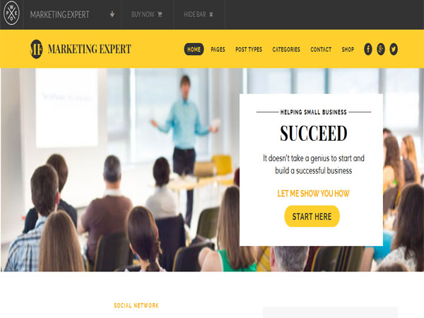 Expert Best Marketing WordPress Themes